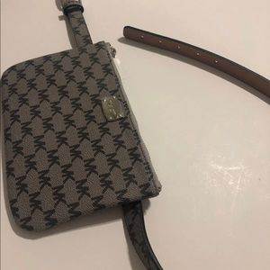 Michael Kors Belt Bag Gray Medium